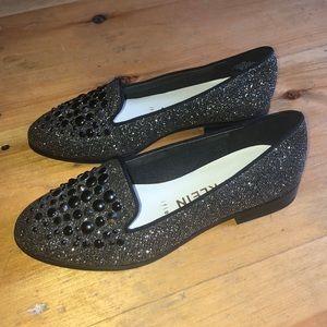 Anne Klein Della Glitter Loafer Size 6